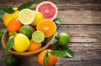 диета на цитрусовых